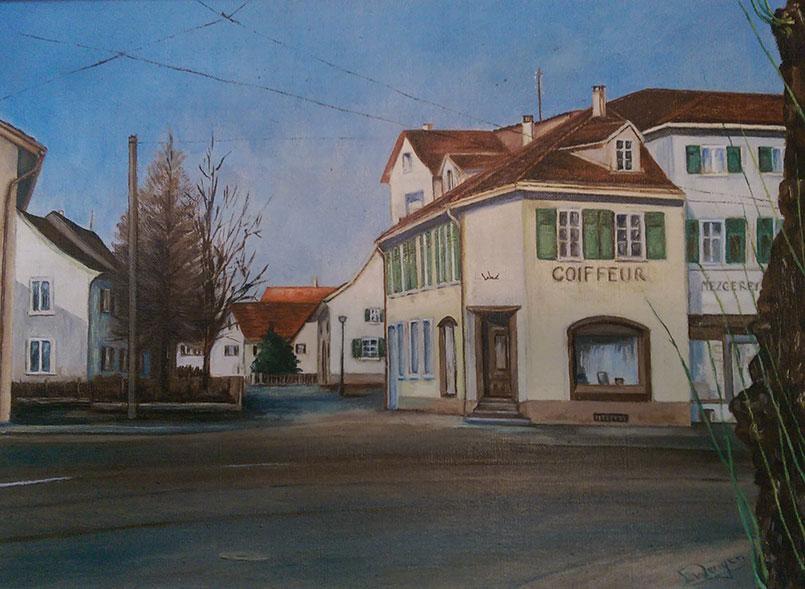 Im Haus an der Hauptstrasse 26 in Reinach war schon immer ein Coiffeur Salon beheimatet.